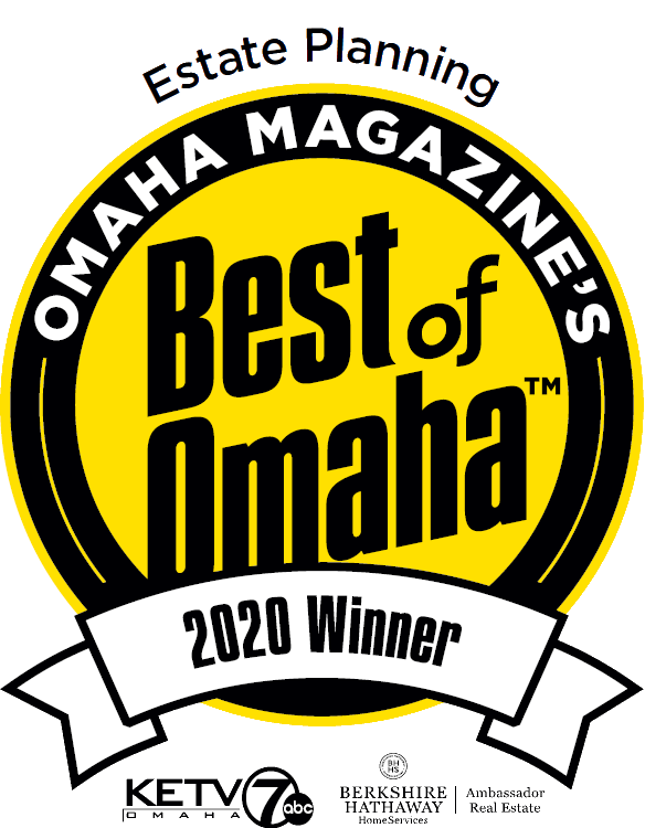 Estate Planning Lawyer - Omaha Magazine Award Winner - 2020